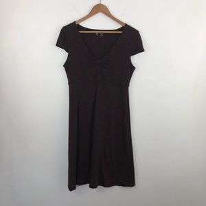 Horny Toad Brown Rosemarie Athletic Dress